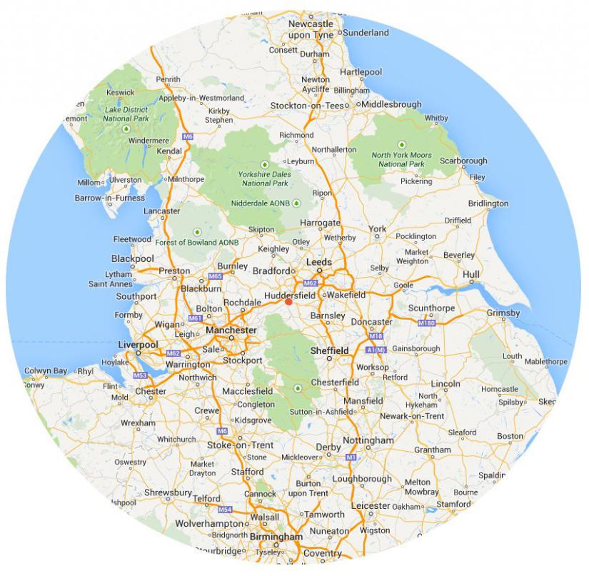 Serving Manchester, Yorkshire, Huddersfield, Halifax, Leeds, Sheffield, Harrogate North of England