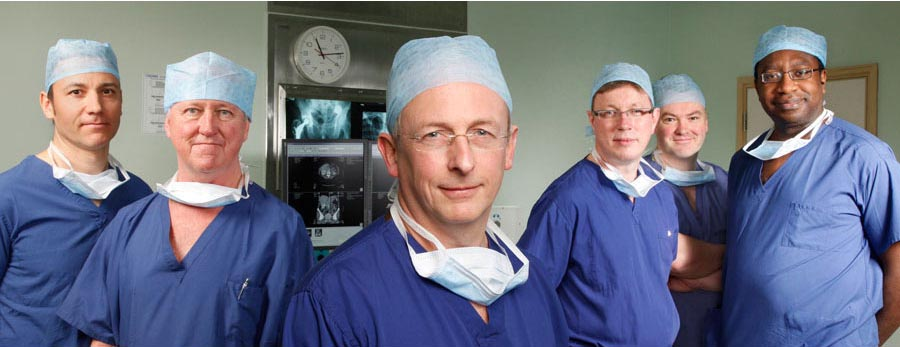 Commercial shoot of surgeons in Cheshire