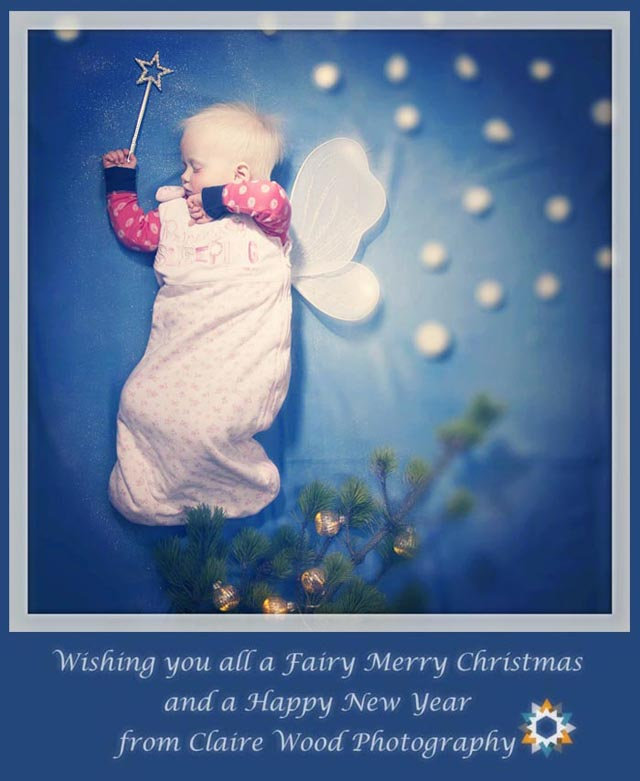 Have a Happy Christmas from Claire Wood Photography